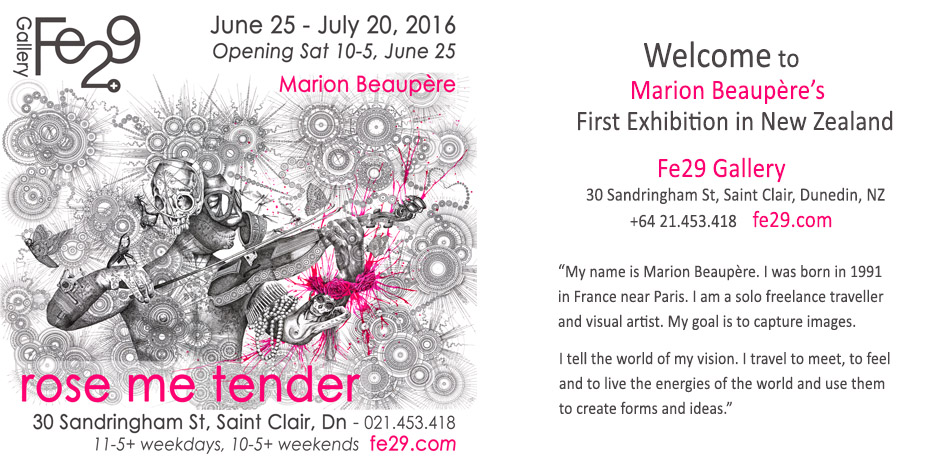 ROSE ME TENDER – MARION BEAUPÈRE | Fe29 :: The Art Lab